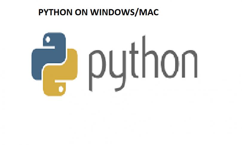 PYTHON ON WINDOWS