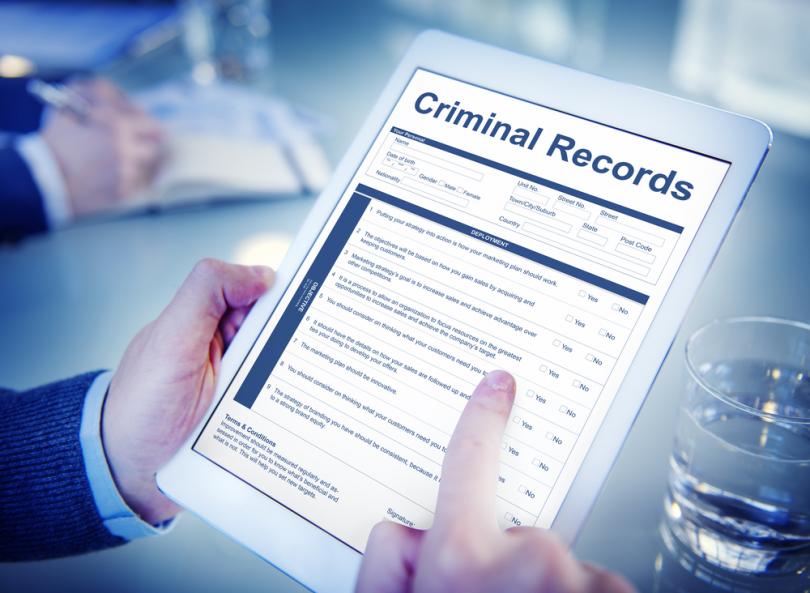 criminal background record check in Canada