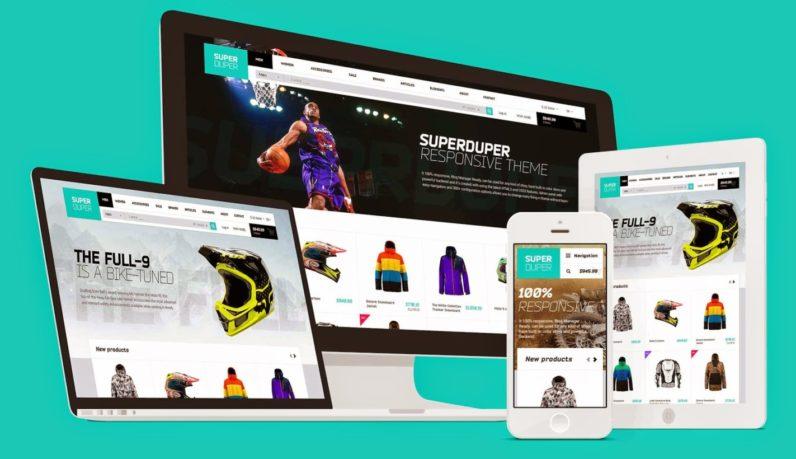 designing ecommerce website
