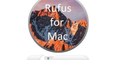 Rufus for Mac