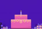 Happy Birthday video maker app