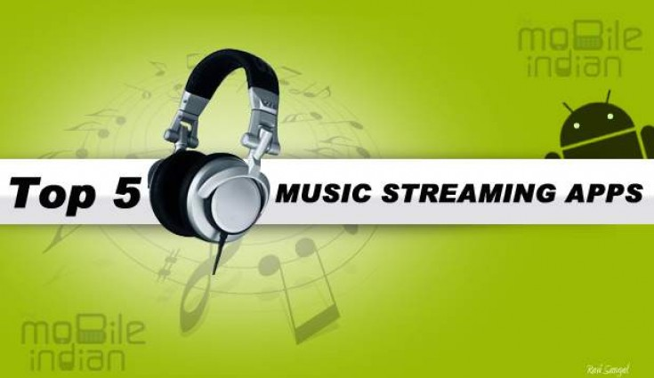 Top 5 Music Streaming Apps