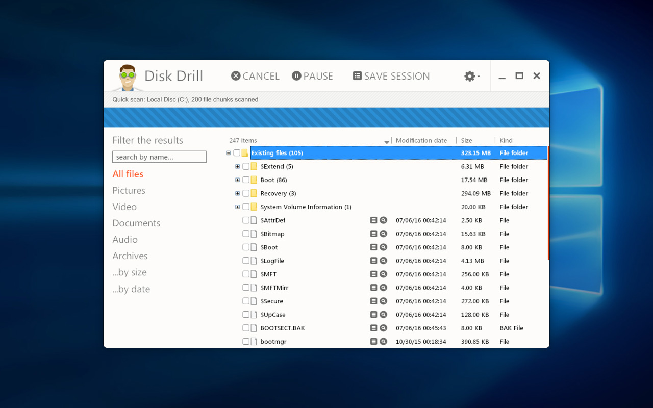 2-Disk-Drill-Win-Scan