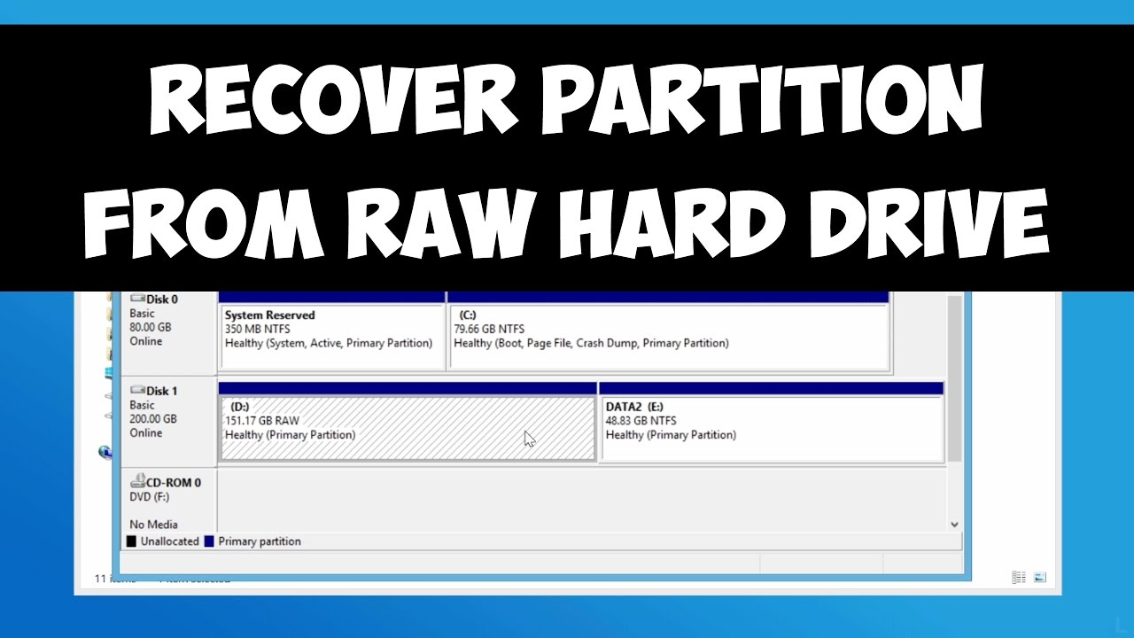 How To Recover Raw Partition: What You Need To Know?