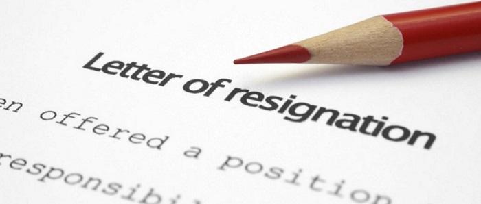 Resignation Letter sample 1