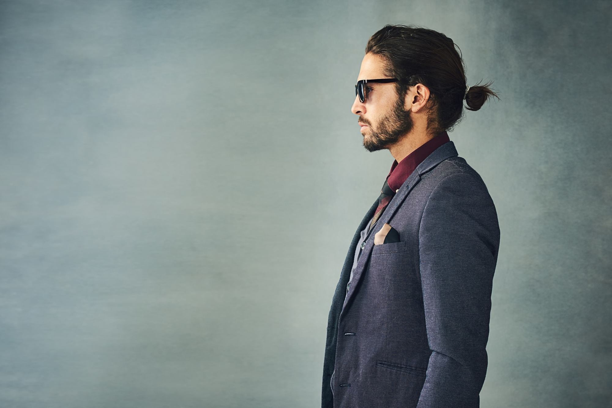 10 Long Hair Male Models