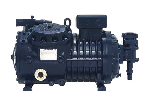 What safety measures should be taken into consideration when using an air compressor Dorin h150CC?