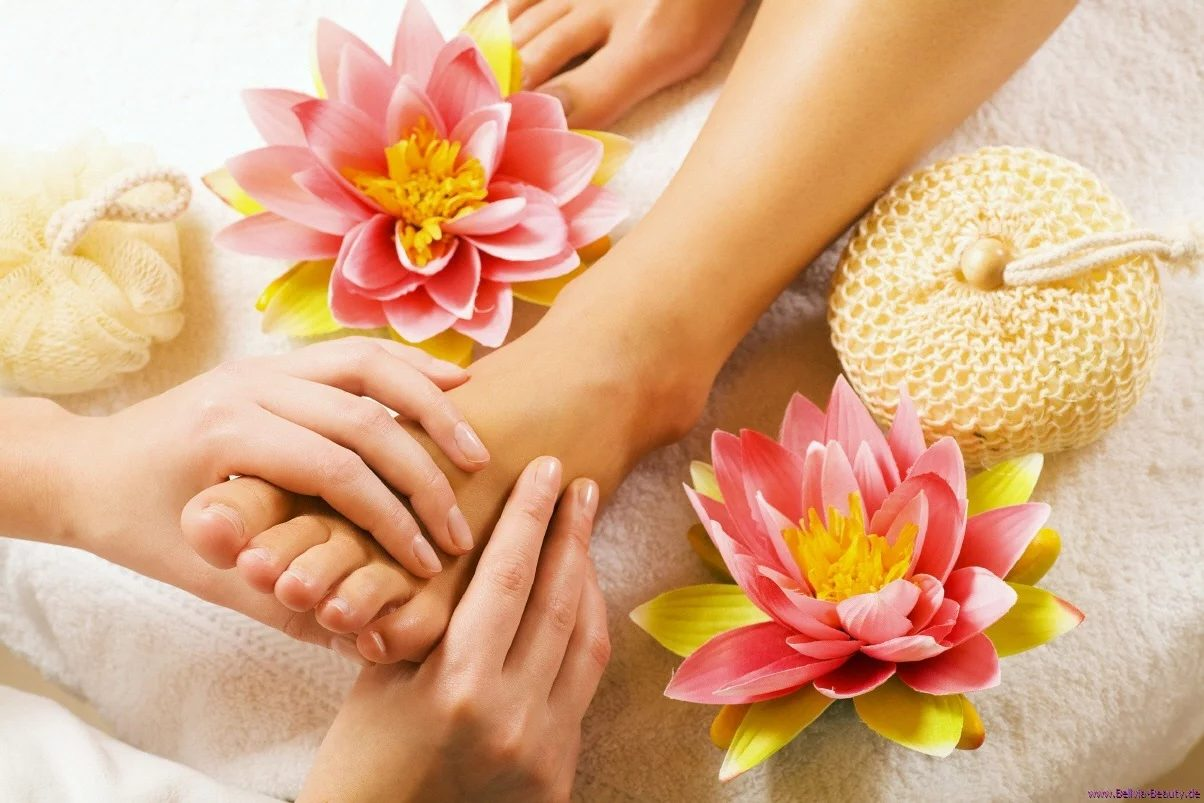 How can foot massages assist you in pain relief?