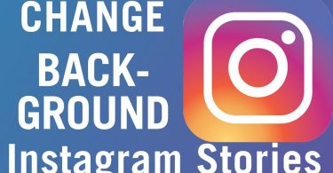 Changing the background color of an Instagram story