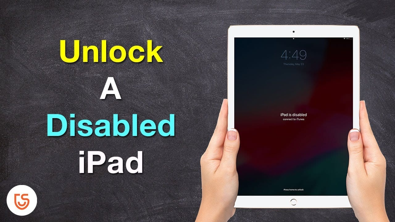How To Unlock Disabled iPad?
