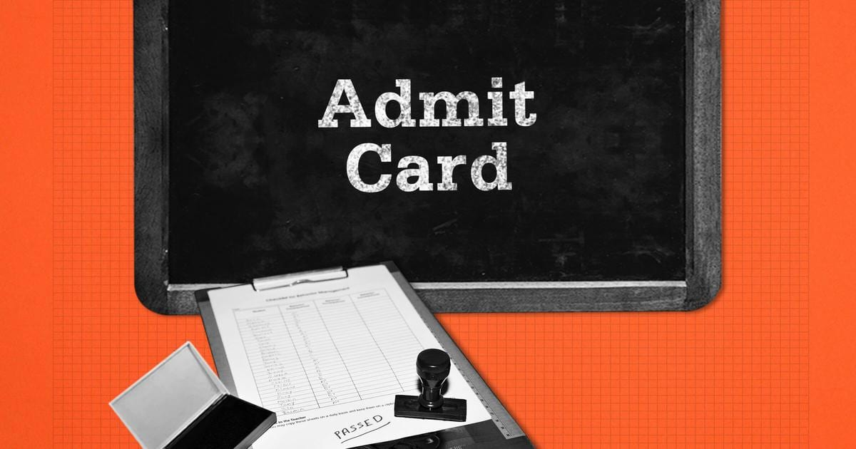 Information Provided in the UPSC Admit Card 2020