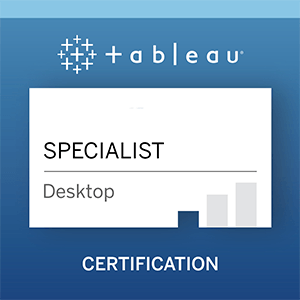 How to become a Tableau Desktop Specialist