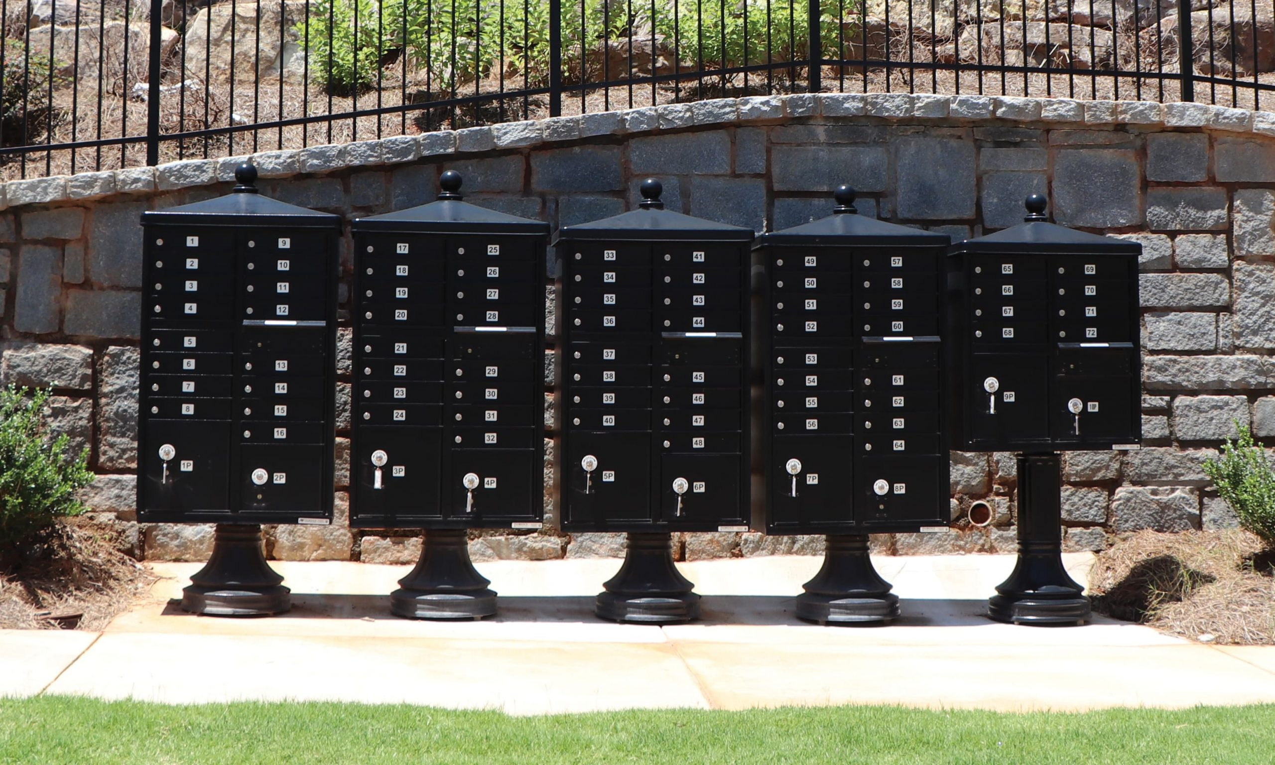What are the Main Mailbox Accessories Offered by Florence