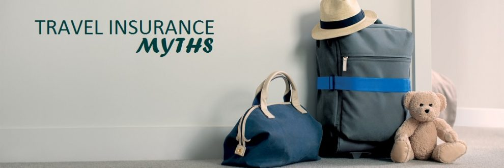 4 myths associated with travel insurance