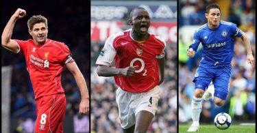 Best Premier League Midfielders of All Time