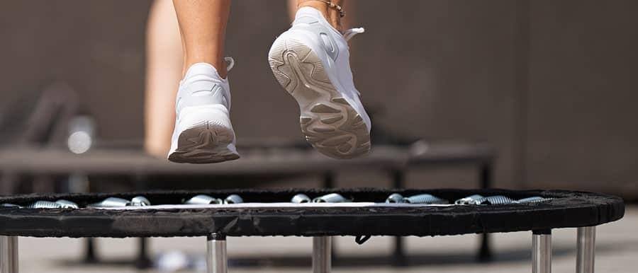 Jump on the trampoline and its positive effect on health