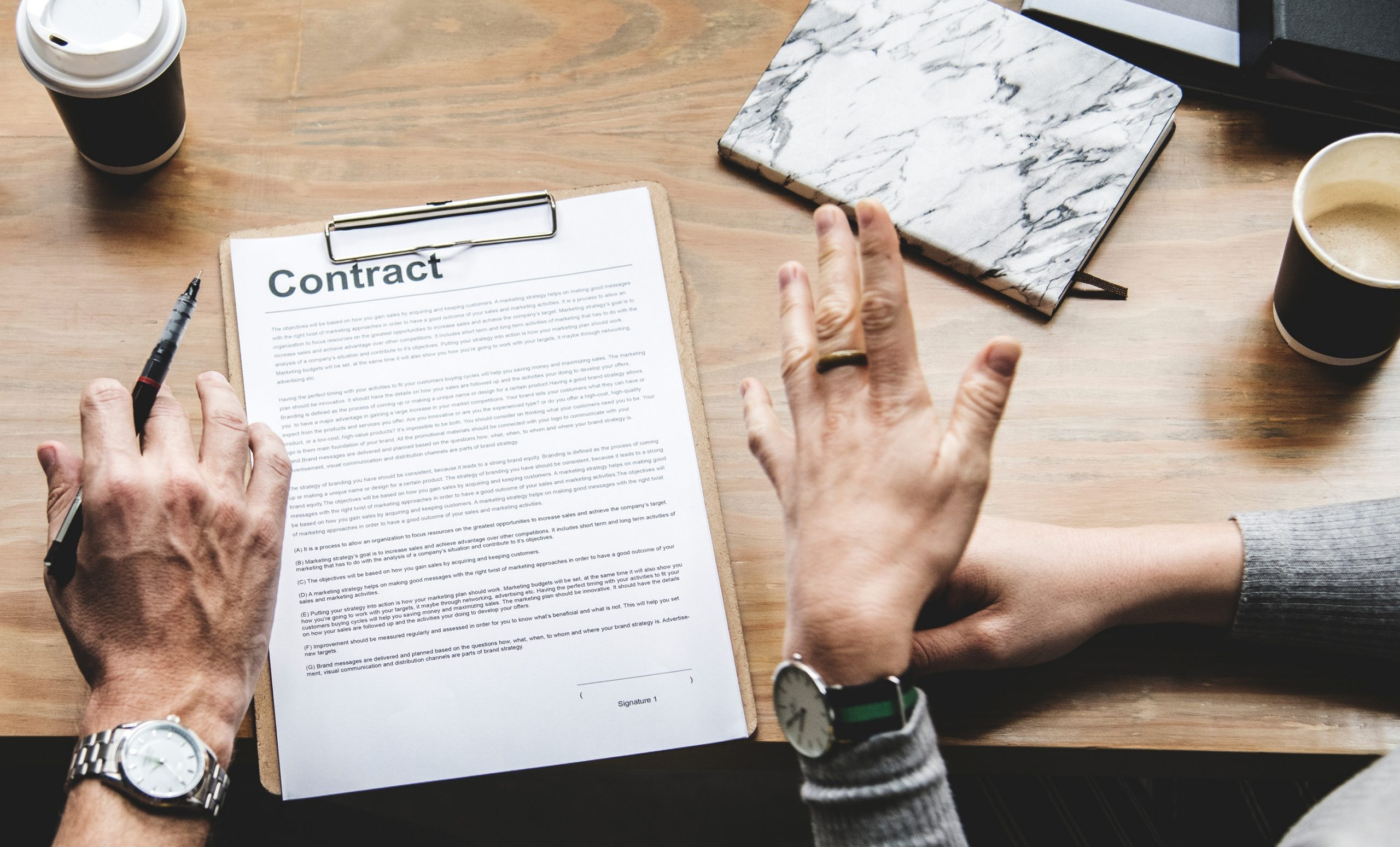 Why Professional Photographers Should Have a Photography Contract Template