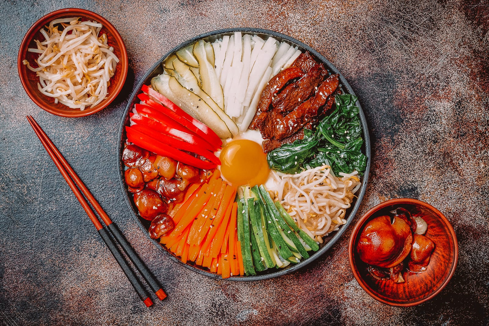 Foods to try in South Korea