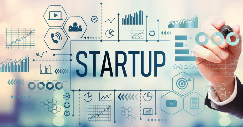 What were the top 5 most popular sectors for startups in 2020?