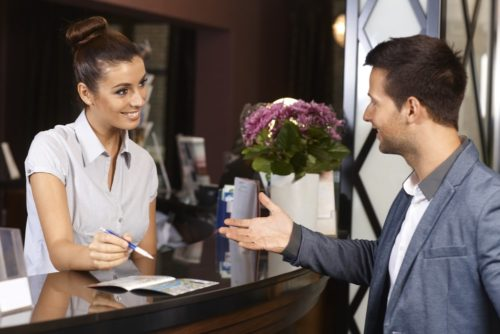 How to win a hotel receptionist job easily?