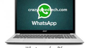 whastapp for pc windows 8 10 7