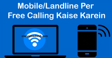 free calls from pc to mobile