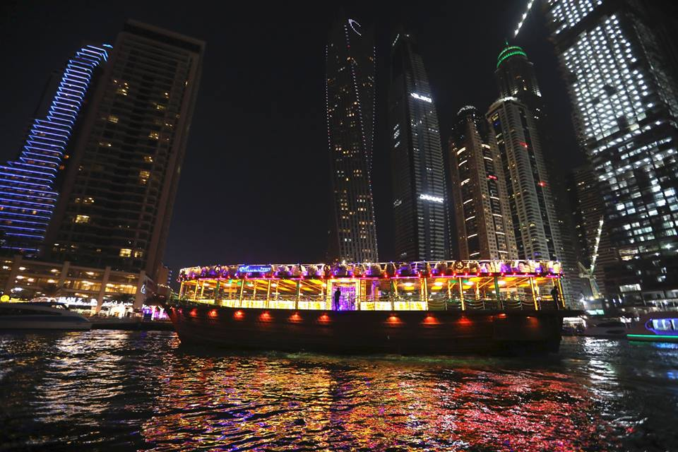 Dhow Cruise Marina Dinner is the best thing to do with family in Dubai Marina