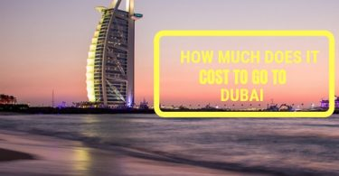 How much does it cost to go to dubai