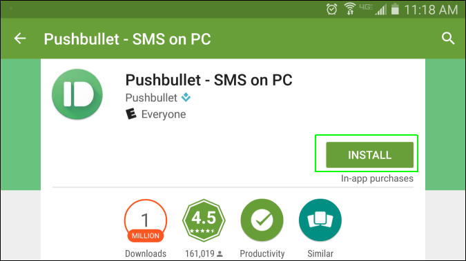 pushbullet for pc chrome