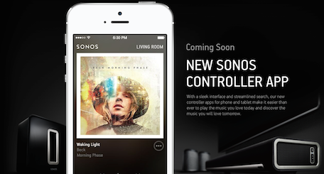 Sonos app for iPhone