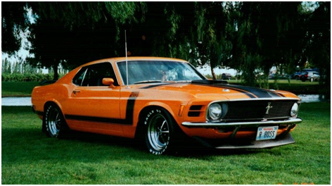 Ford Mustang Boss 302/Shelby GT500 «Eleanor»