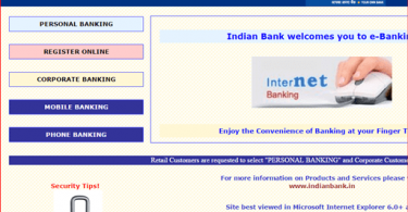 indian bank register online net banking
