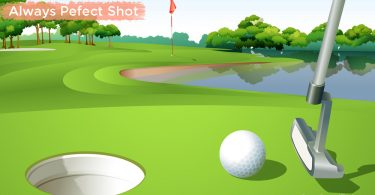 Always perfect shot Golf Clash Mod