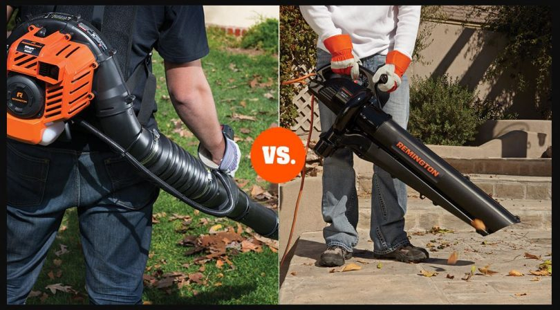 Are Gas Leaf Blowers Better than Electric