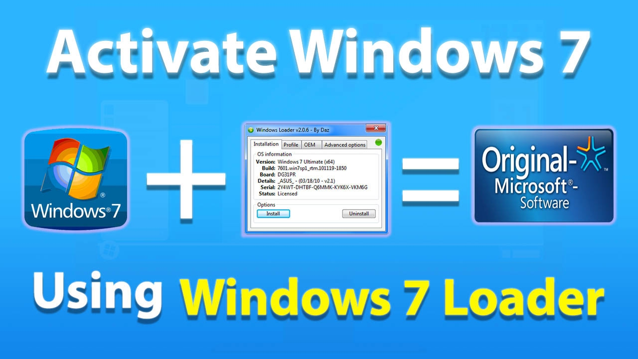 How to Activate Windows 7