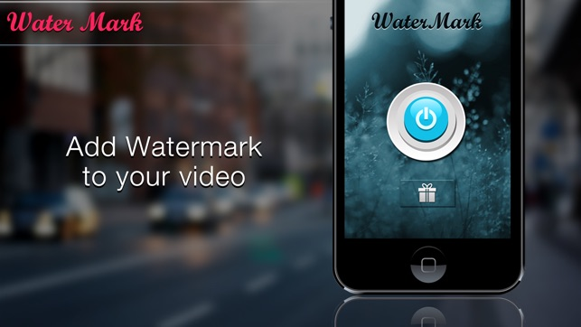 Video and Photo Watermarker App