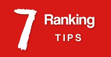 7 Ranking Tips