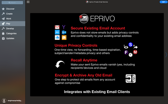 Get Secure with a Private Email Address via EPRIVO