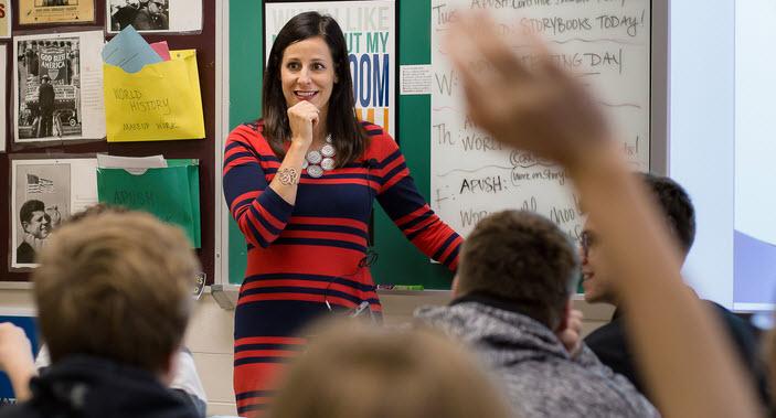 Best Teacher Awards in the USA