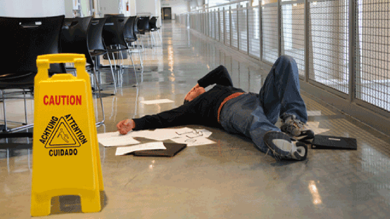Five Ways to Lessen the Risks of Trips and Falls in the Workplace
