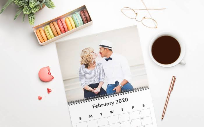 Personalizing your Calendar with your Photos