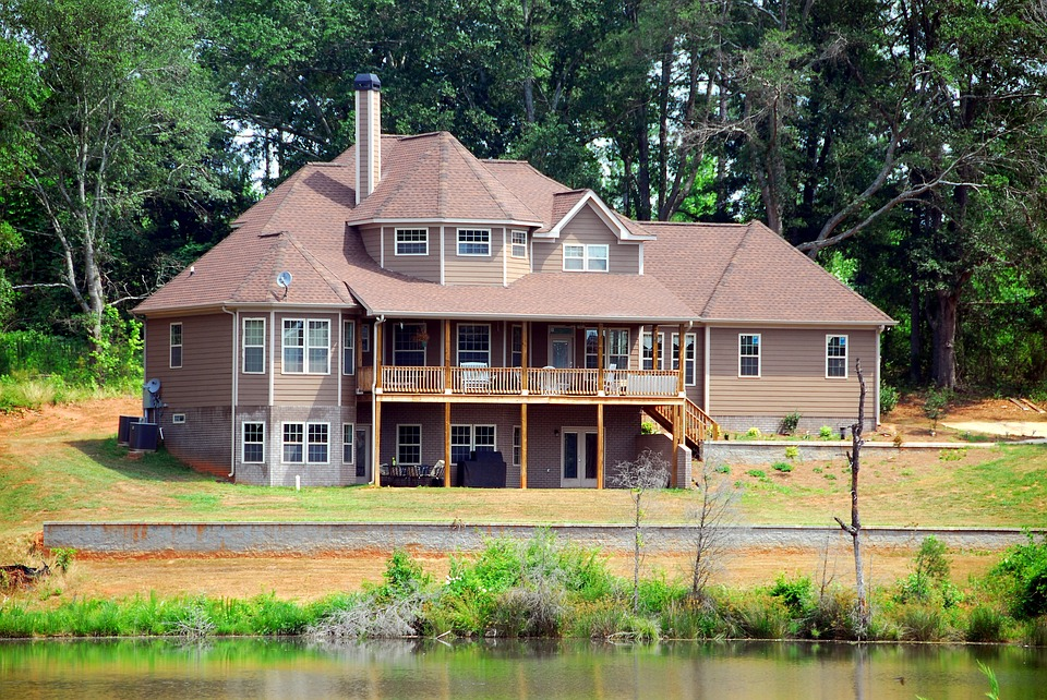 Home, House, Architecture, Landscape, Upscale, Luxury