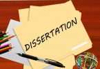 Important points in writing a dissertation