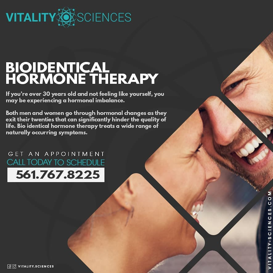 vitality sciences bioidentical hormone replacement therapy