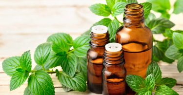 Since peppermint oil has wonderful antiseptic