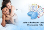 Safe And Effective Erectile Dysfunction Pills