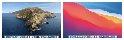 Mac Big Sur v. Mac Catalina