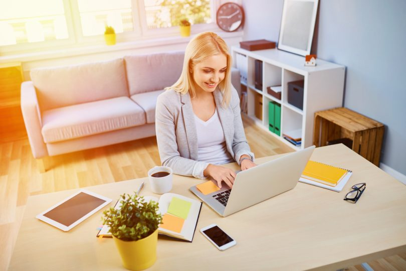 How a Home Office Helps You Be More Productive When Working from Home