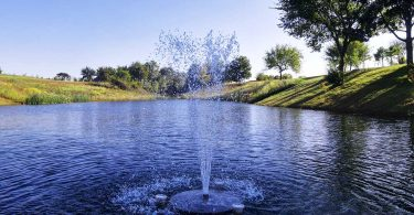 Style: Water features come in all shapes, sizes, and styles, allowing you to match your home and personal design style. Some options now include a floating solar fountain pump pond aerator for lakes, pondless waterfalls, disappearing fountains,