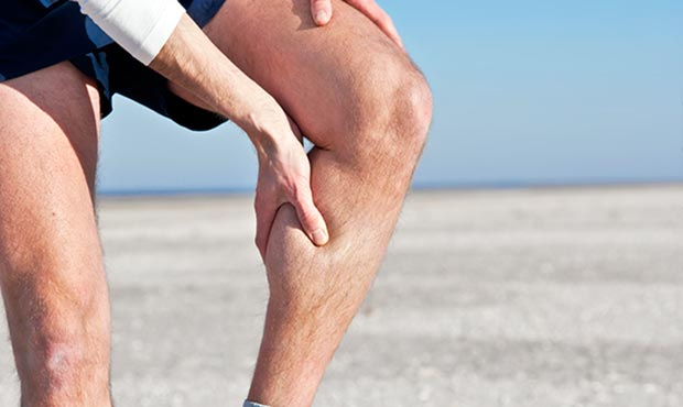 Muscle cramps exercise treatment.